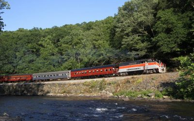 Enjoy Northern Poconos Scenic Train Rides on The Stourbridge Line